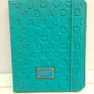 Marc by Marc Jacobs IPad Case Neoprene Blue